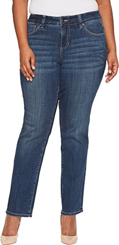 Jag Jeans Women's Plus Size Adrian Straight Jean, Thorne Blue, 18W