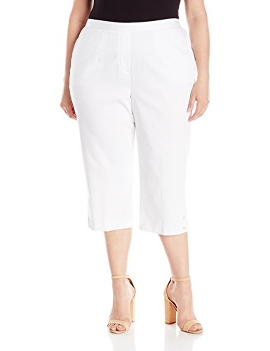 Side Pocket Back Elastic Capri
