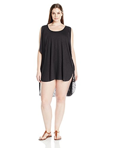Knit Cold Shoulder Tunic Cover up