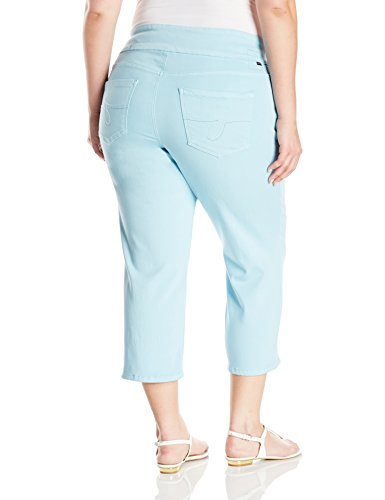 Jag Jeans Women's Plus-Size WM Echo Crop, Azure, 24W