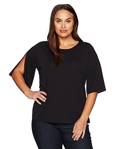 Short Slit Sleeve Top