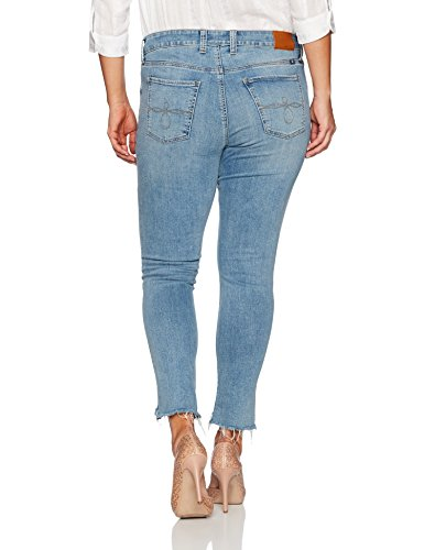 Lucky Brand Women's Plus Size Ginger Skinny In Divinty, Divinity, 18W